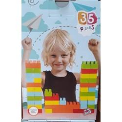 Toptan Lego Oyuncak Kutulu 35 Parça