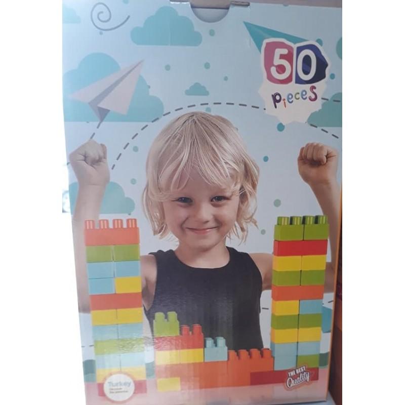 Toptan Lego Oyuncak 50 Parça Kutulu