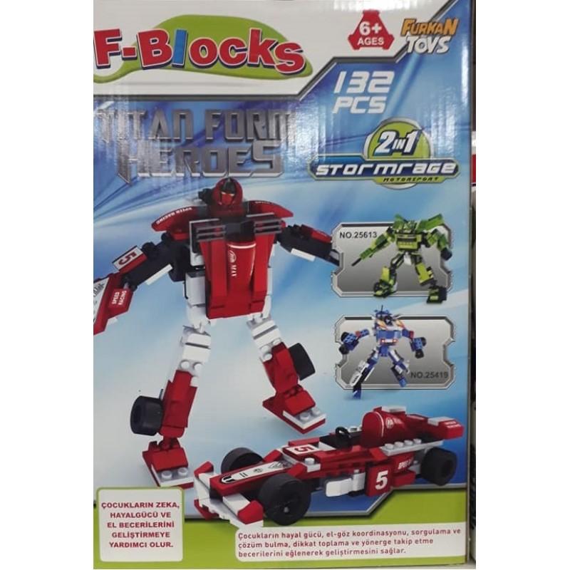 Toptan Blocks Lego 132 Parca