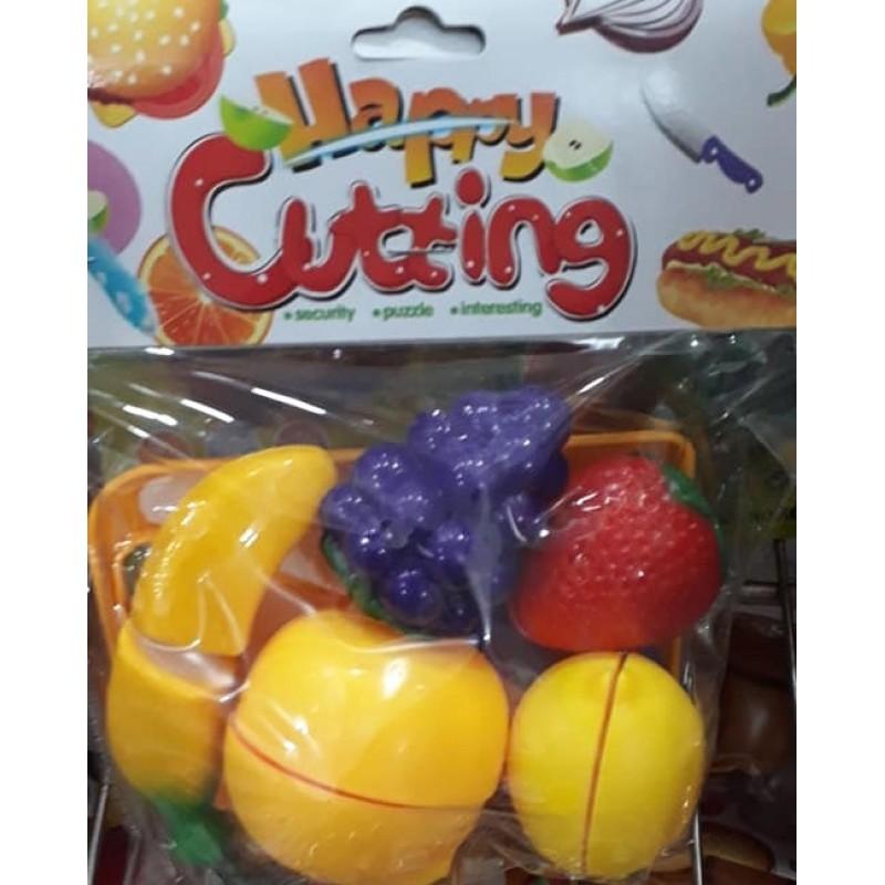 Toptan Oyuncak Meyve Seti