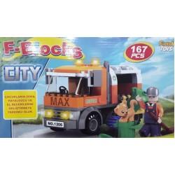 Toptan Blocks Lego 167 Parca