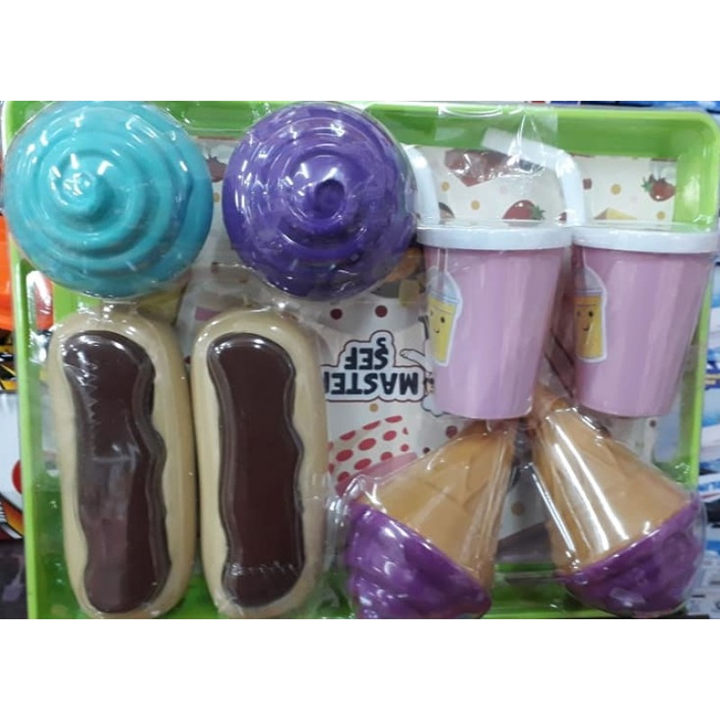 Toptan Dondurma Seti Tepsili