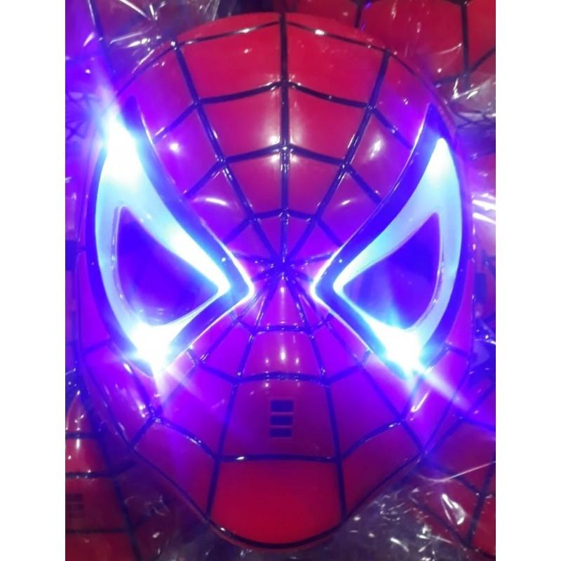 Toptan Oyuncak Örümcek Maske Işıklı