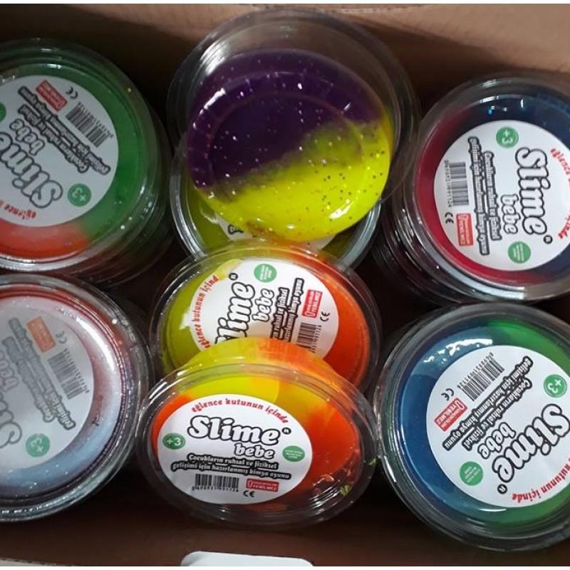 Toptan Kokulu Slime İki Renk