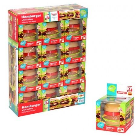 Toptan Kutulu Hamburger Oyuncak