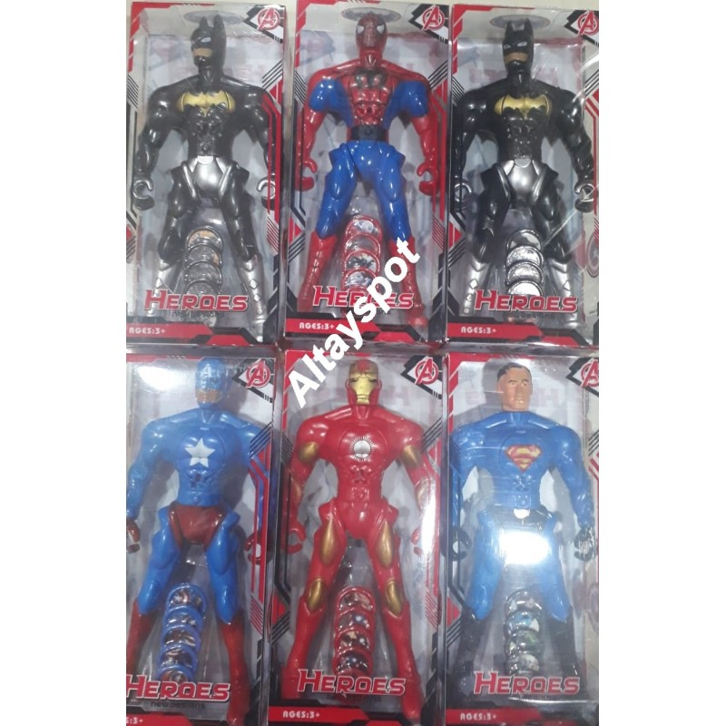 Toptan Süper Kahramanlar Taso Atar