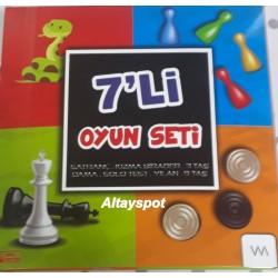 Toptan 7 Li Oyun Seti