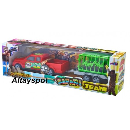 Toptan Oyuncak Safari Team Set