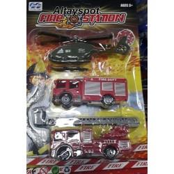 Toptan İtfaiye Ve Helikopter Seti