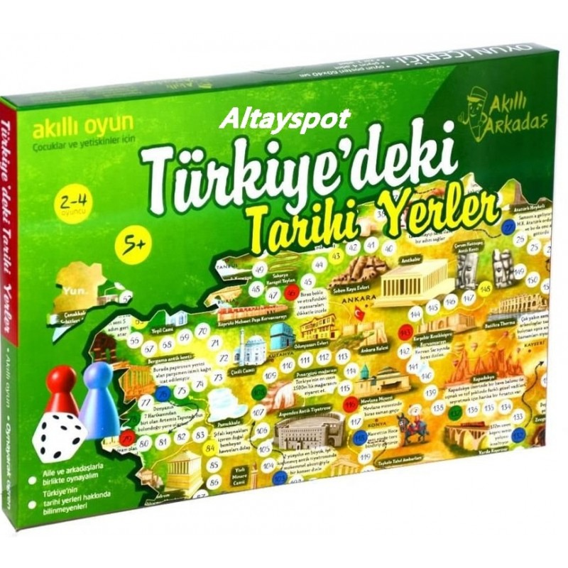 Toptan Türkiyedeki Tarihi Yerler