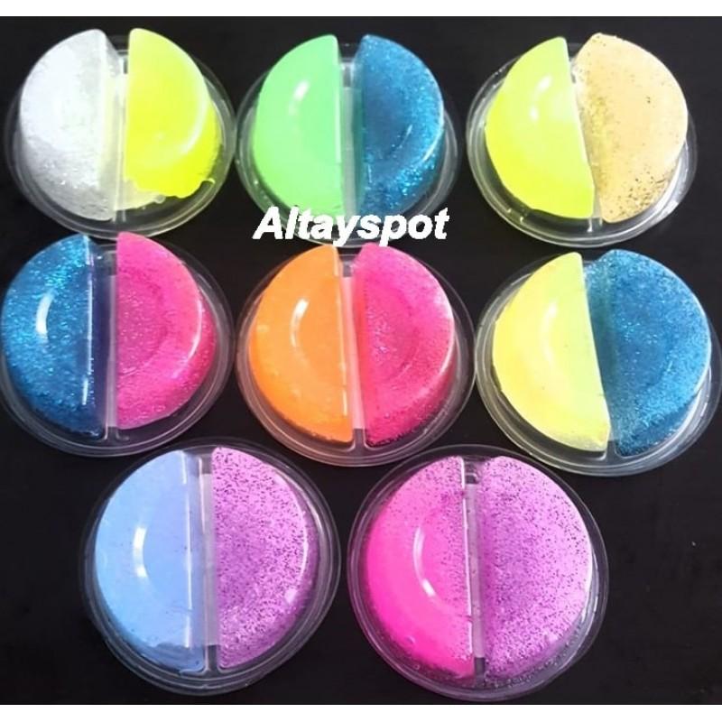 Toptan İki Renk Slime