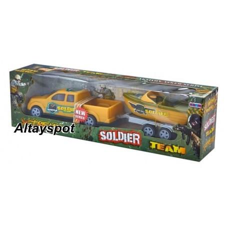 Toptan Oyuncak Soldıer Team Set