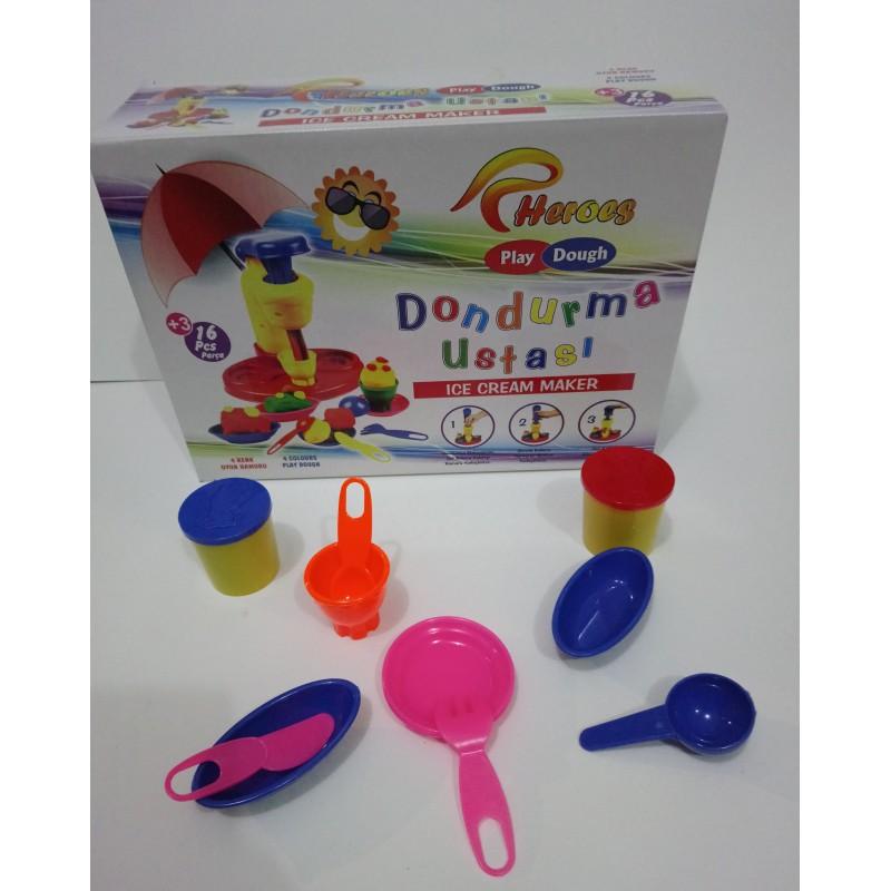 Toptan Dondurma Oyun Hamuru Seti