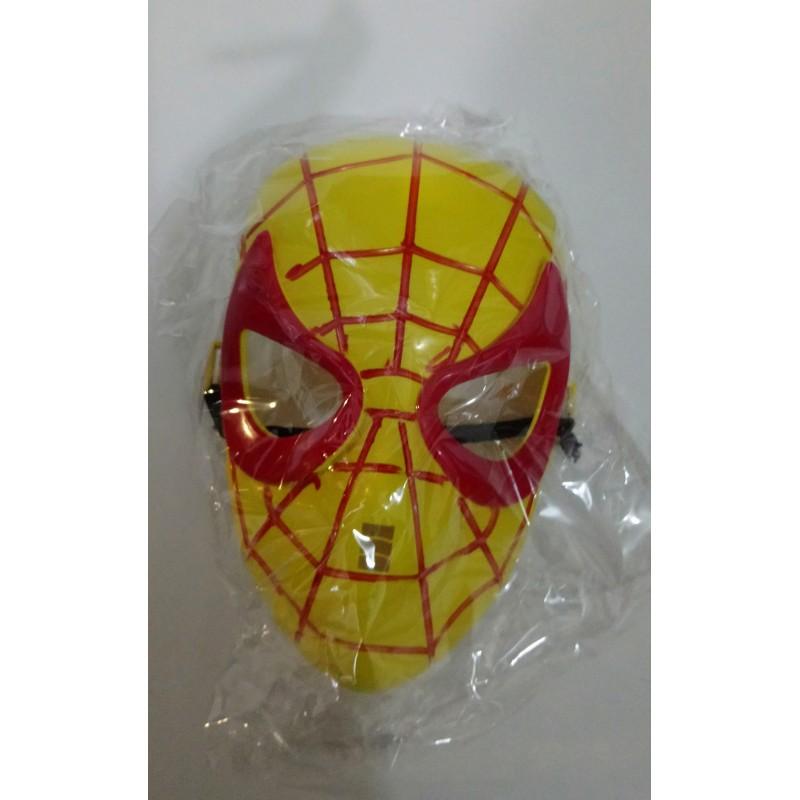 Toptan Orumcek Maske Sarı Kırmızı