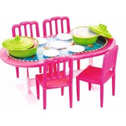 Toptan Büyük Yemek Masası Oyuncak