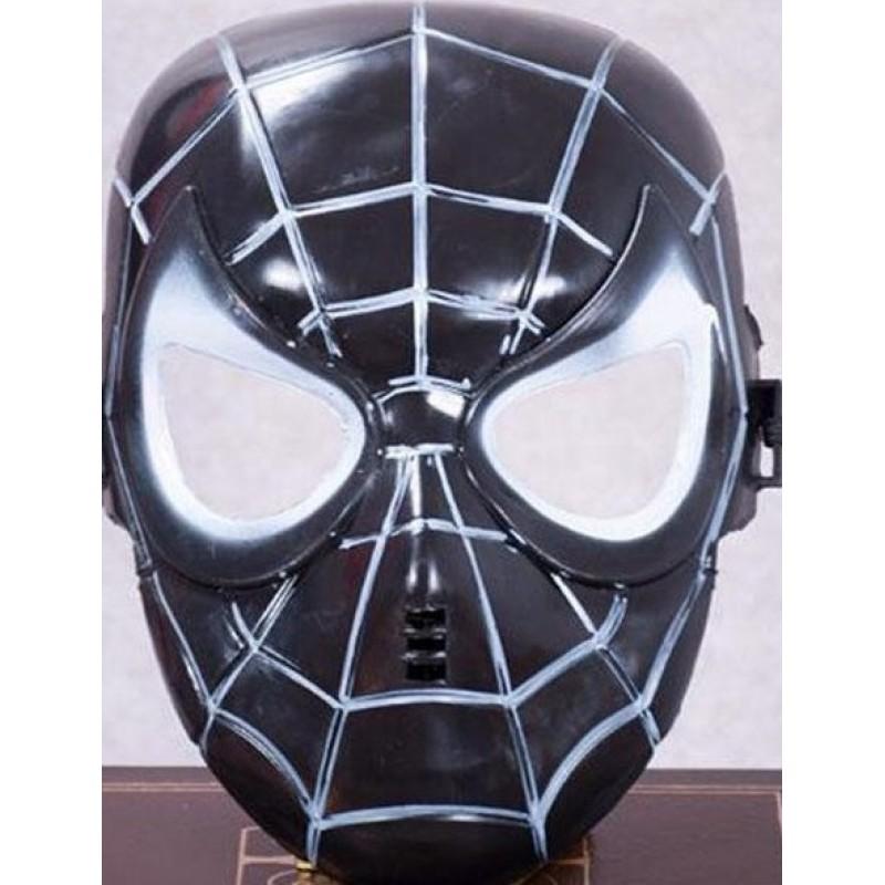 Toptan Örümcek Adam Maske Siyah