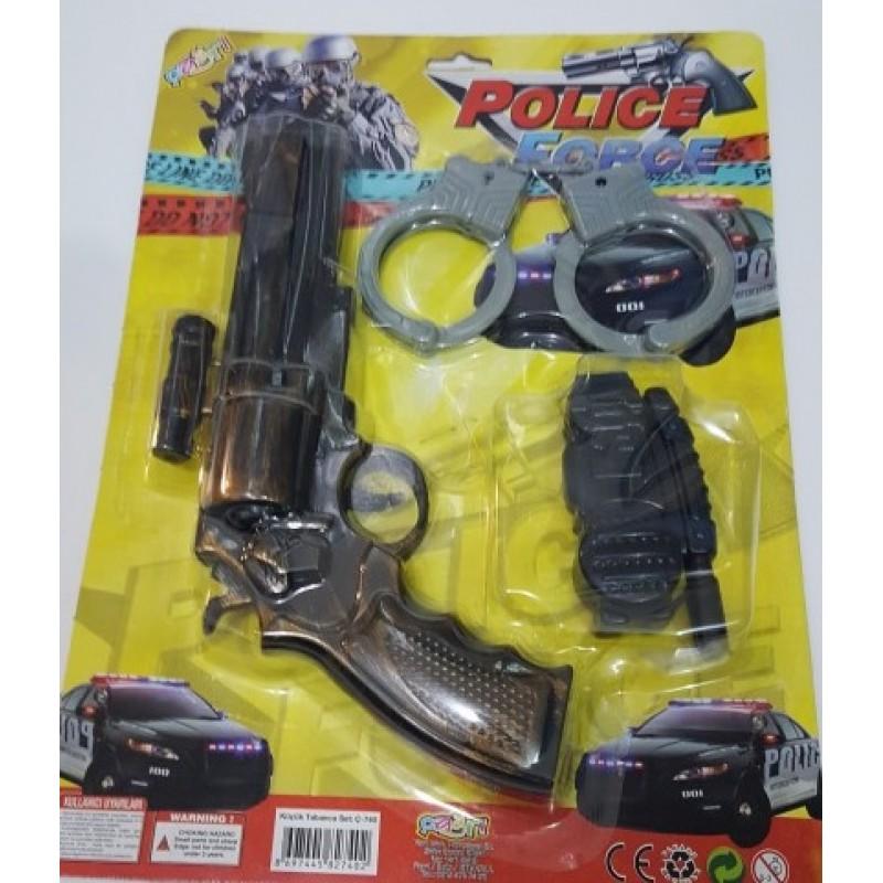 Toptan Kartela Polis Seti Kelepceli 740