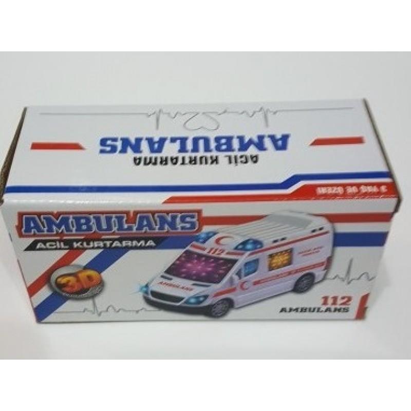 Toptan Pilli Ambulans