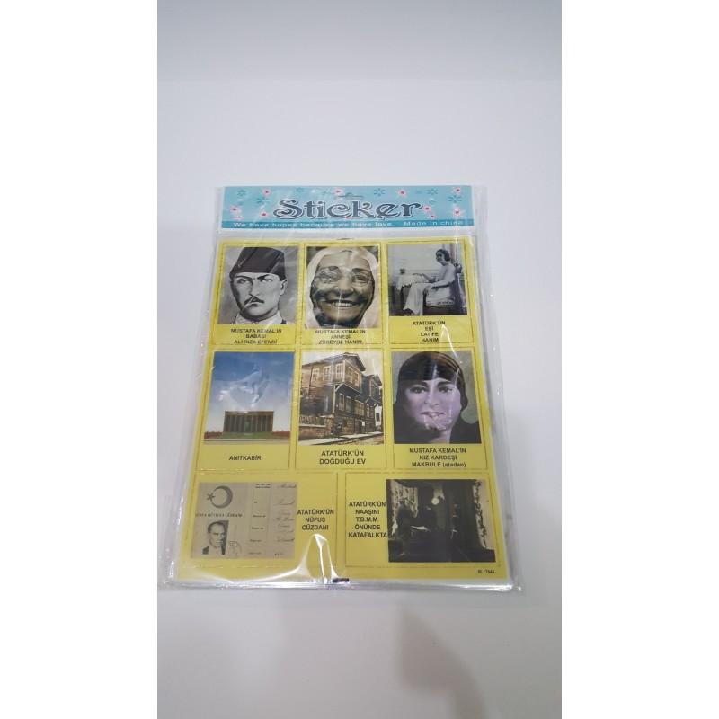 Toptan Sticker 50 Li