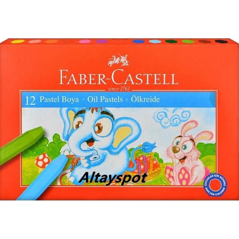 Toptan Faber Castell 12 Li Pastel Boya