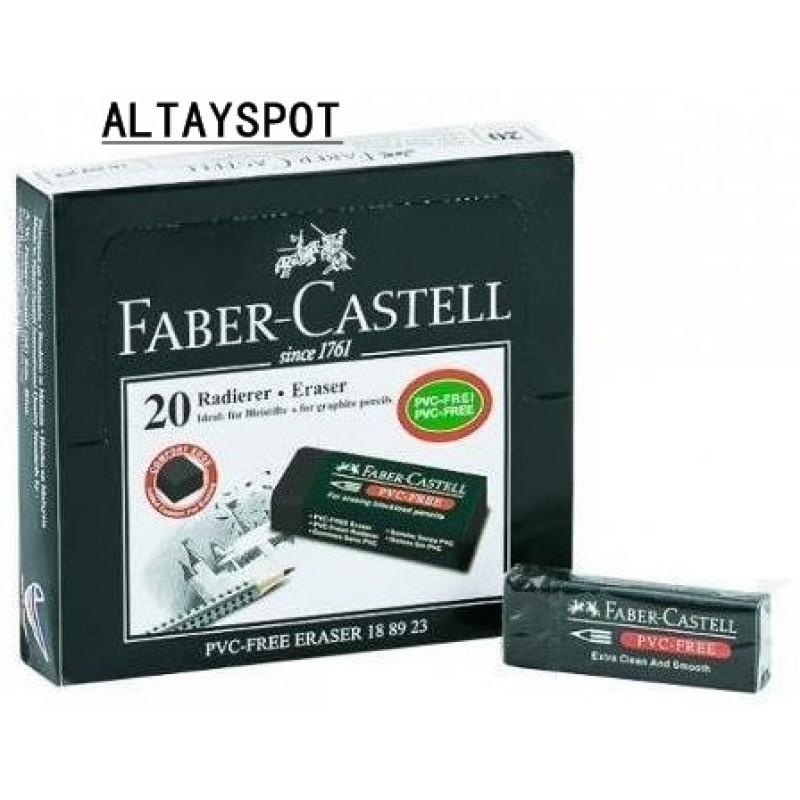Toptan Faber Castell 20 Li Siyah Silgi