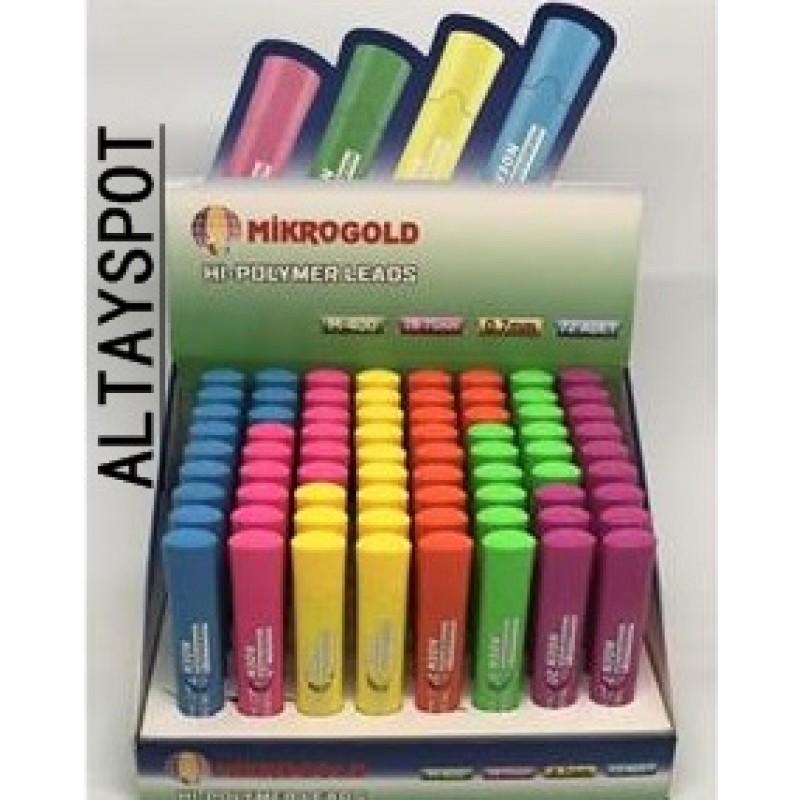 Toptan Mikrogold M 400 Neon Min 0.7 Kalem Ucu
