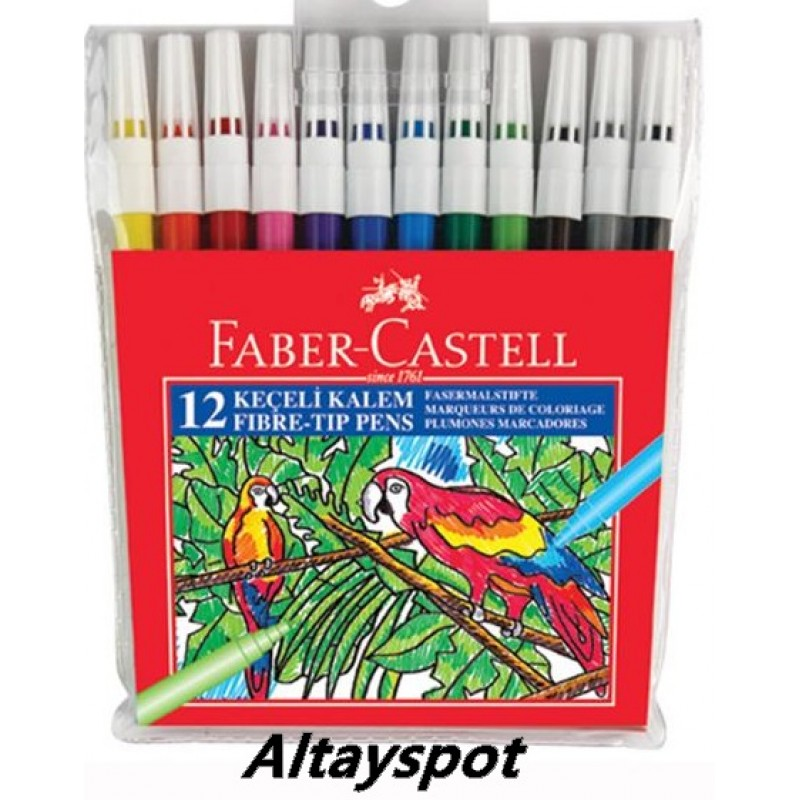 Toptan Faber Castell 12 Li Keçeli Kalem