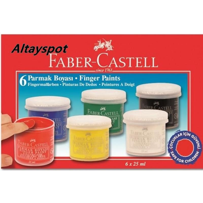 Toptan Faber Castel 6 Lı Parmak Boyası