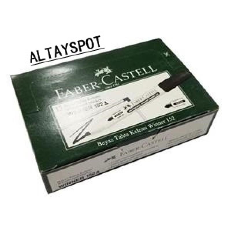 Toptan Faber Castell Beyaz Tahta Kalemi Siyah Yazılı