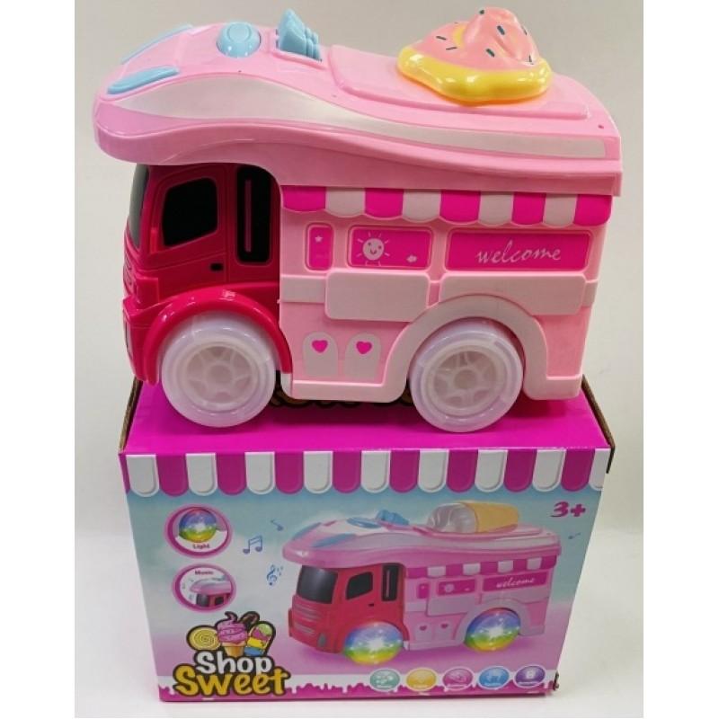 Toptan Pilli Karavan Dondurma Arabası