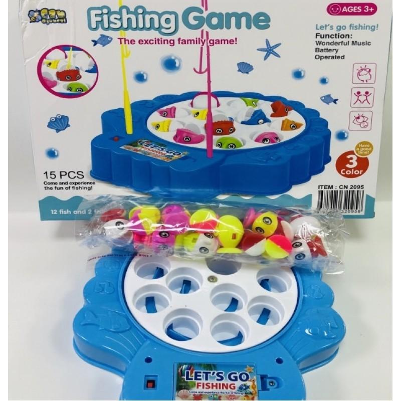 Toptan Pilli Balık Tutma Oyunu