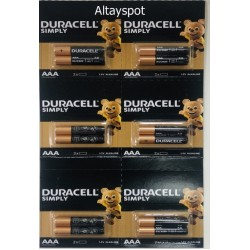 Toptan Duracell İnce Pil