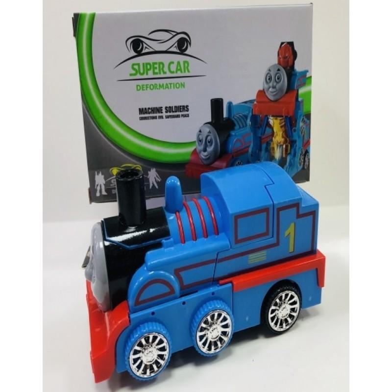 Toptan Oyuncak Robota Dönüşen Tren