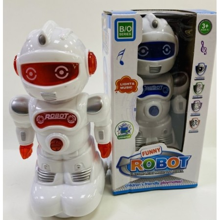 Toptan Pilli Robot Kutulu Müzikli