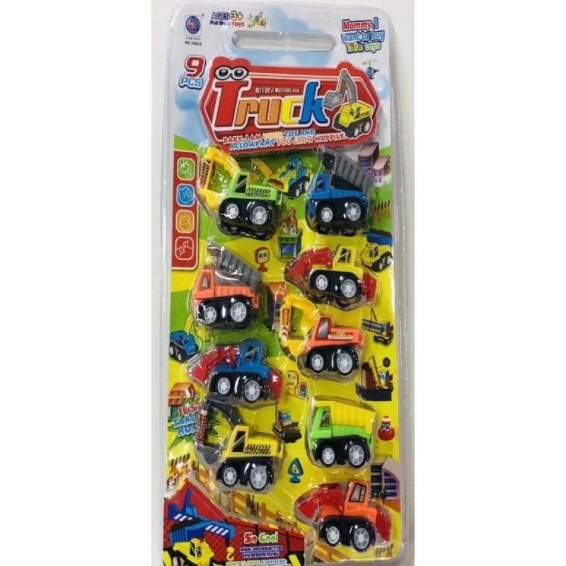 Toptan Oyuncak Araç Seti 9 Lu