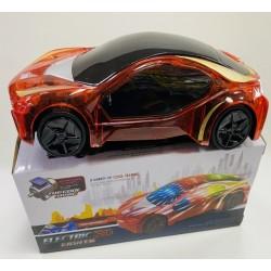 Toptan Pilli 3 D Işıklı Spor Araba