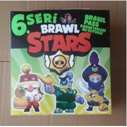 Toptan Brawl Stars Oyuncu Kartı 6. Seri