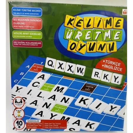 Toptan Kelime Üretme Oyunu