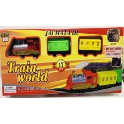 Toptan Oyuncak Pilli Tren 17 Parça
