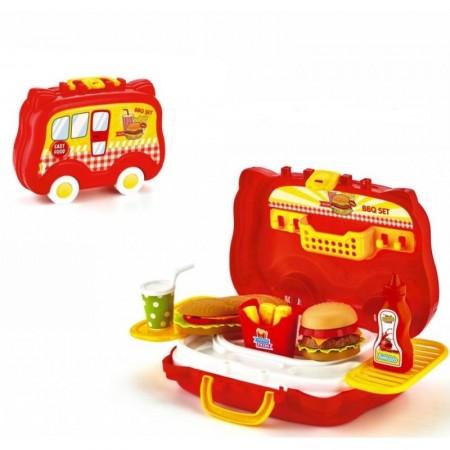 Toptan Arabalı Hamburger Seti