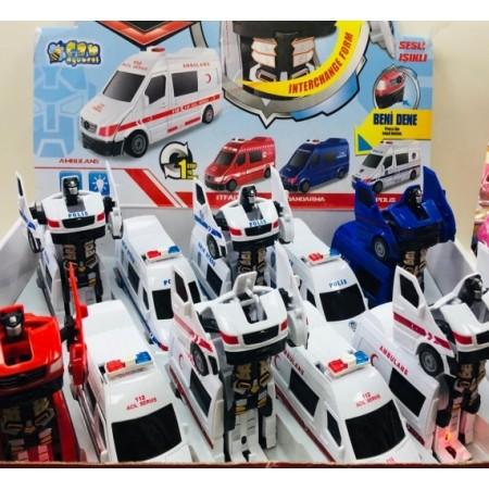Toptan Robot Olan Ekip Arabaları