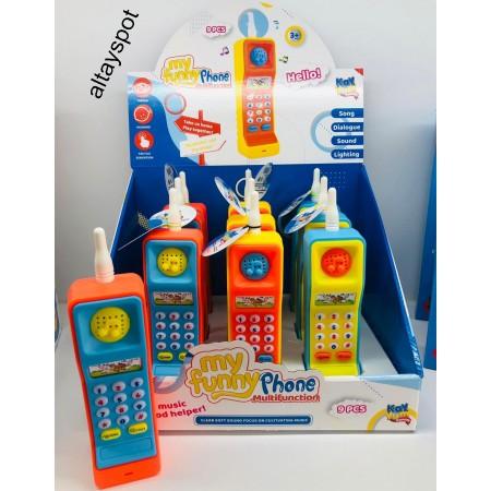 Toptan Oyuncak Telefon İngilizce Çok Özellikli