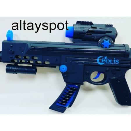 Toptan Oyuncak Polis Tüfeği Pilli Ve Sesli