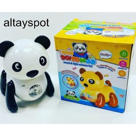 Toptan Oyuncak Pilli Sesli Ve Işıklı Panda