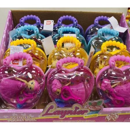 Toptan Oyuncak Çantalı Bebekler