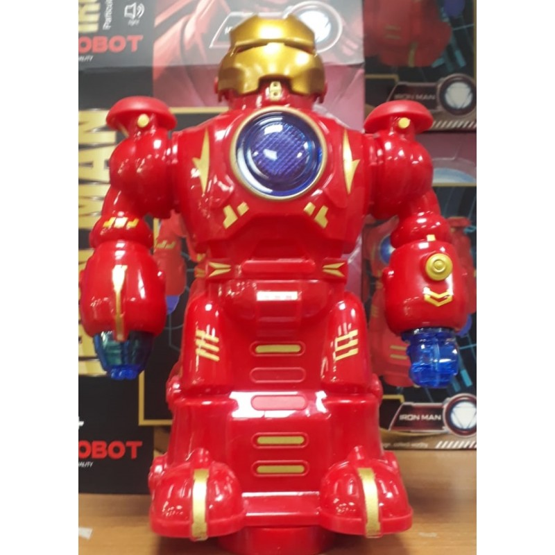 Toptan Pilli Demir Adam Robot Oyuncak