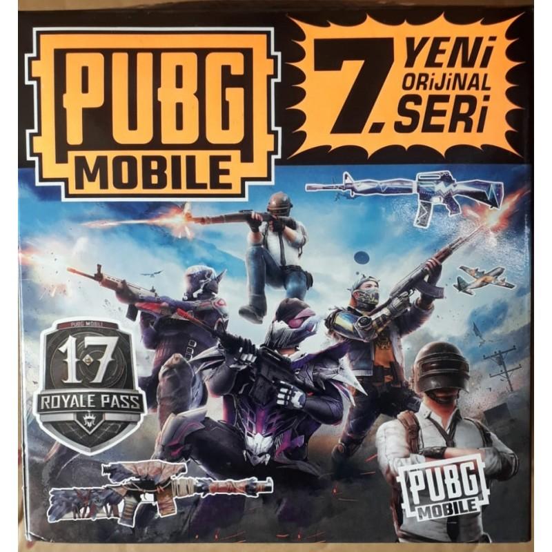 Toptan Pubg Mobile 7. Seri Orjinal Seri Oyuncu Kartı