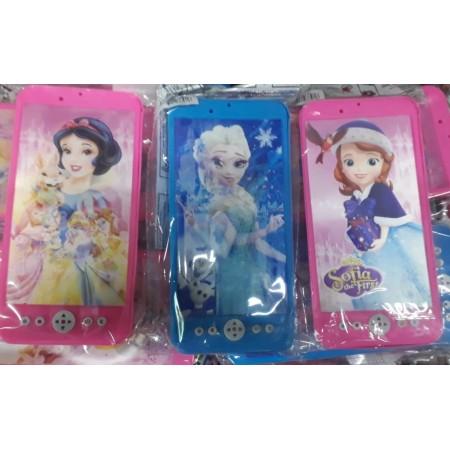 Toptan Yansımalı Frozen Sofia Ve Prenses Telefon