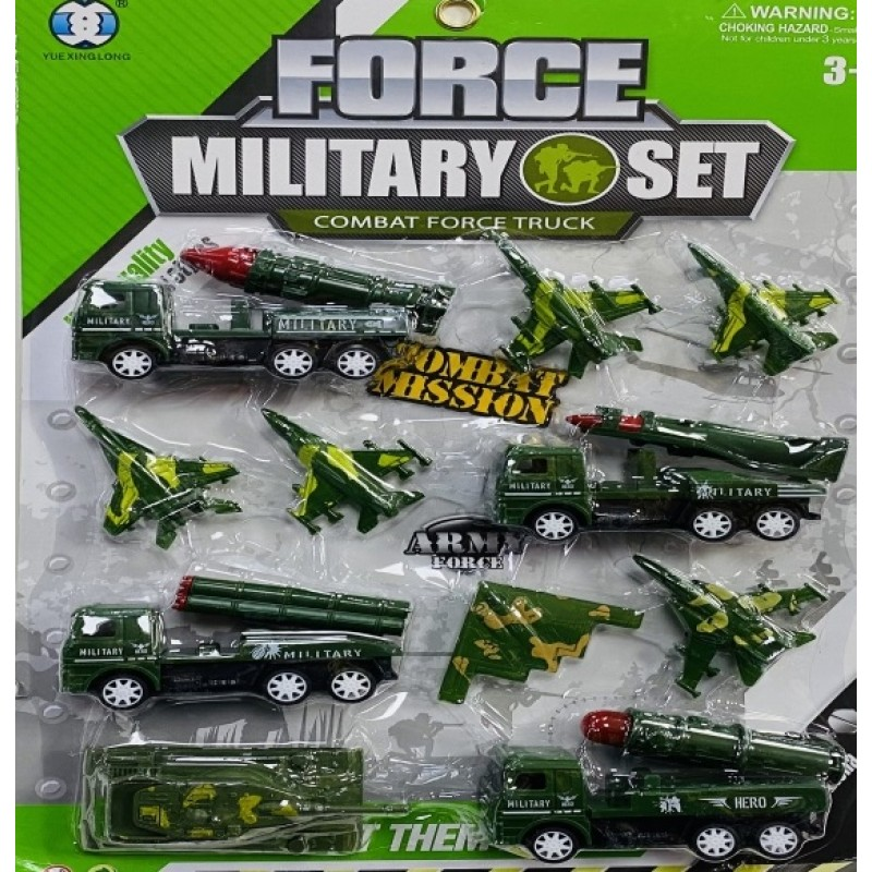 Toptan Oyuncak Askeri Set