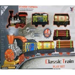 Toptan Oyuncak Büyük Tren 14 Parça